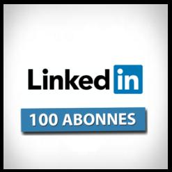 Accueil linkedin 100 abonnes