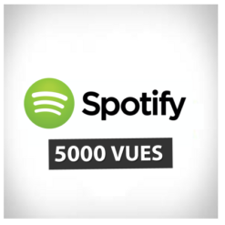 Accueil 5000 plays spotify