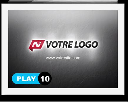 exemple 10 vidéo de présentation Création intro vidéo logo v10