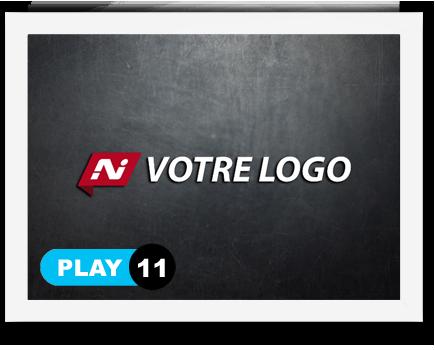 exemple 11 vidéo de présentation Création intro vidéo logo v11