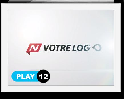exemple 12 vidéo de présentation Création intro vidéo logo v12