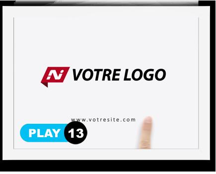 exemple 13 vidéo de présentation Création intro vidéo logo v13