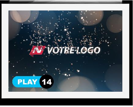 exemple 14 vidéo de présentation Création intro vidéo logo v14