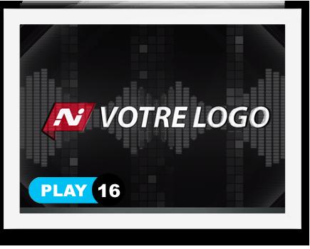 exemple 16 vidéo de présentation Création intro vidéo logo v16