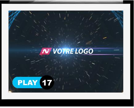 exemple 17 vidéo de présentation Création intro vidéo logo v17