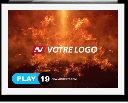 exemple 19 vidéo de présentation Création intro vidéo logo v19