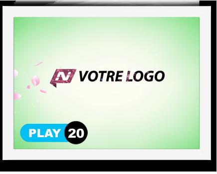 exemple 20 vidéo de présentation Création intro vidéo logo v20