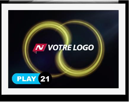 exemple 21 vidéo de présentation Création intro vidéo logo v21