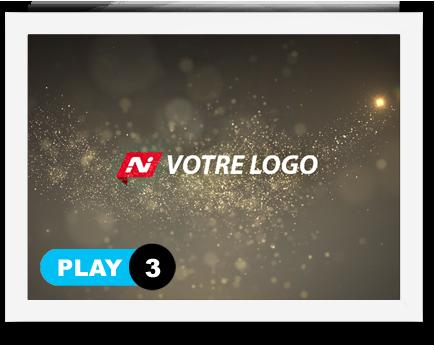 exemple 3 vidéo de présentation Création intro vidéo logo v3