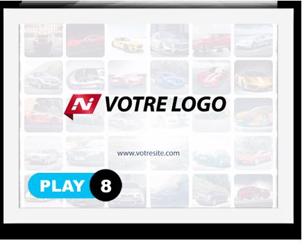 exemple 8 vidéo de présentation Création intro vidéo logo v8