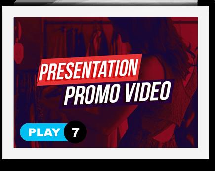 1-7 vidéo de présentation Création vidéo de présentation 1 7