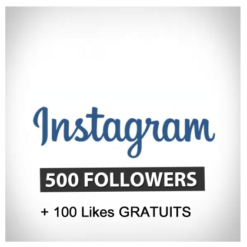 Accueil 500 followers instagram 1