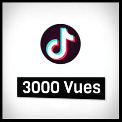 Accueil tiktok 3000 vues